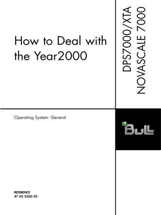 How to Deal withthe Year2000 - Support On Line - Bull