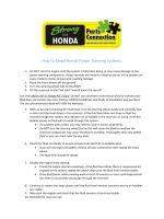 How to bleed Honda Power Steering systems. - Strong for Honda
