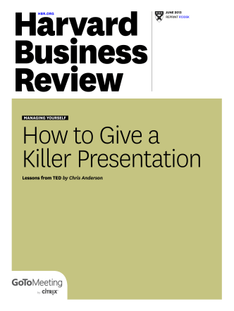 How to give a killer presentation - Green Power Conferences