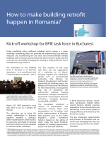 How to make building retrofit happen in Romania? - BPIE