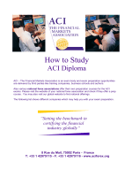 How to study - ACI Russia
