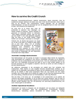Artikel Telecommerce 2 2009 - How to Survive the Credit Crunch