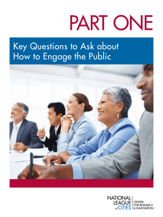 key Questions to ask about how to engage the Public