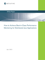 How to Achieve Best-in-Class Performance Monitoring for - Netuitive
