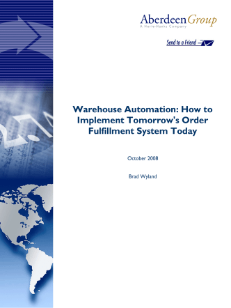 Warehouse Automation: How to Implement - Kiva Systems