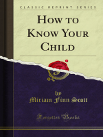 How to Know Your Child - Forgotten Books