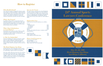 How to Register - The Sports Lawyers Association
