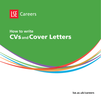 How to write CVs and cover letters - London School of Economics
