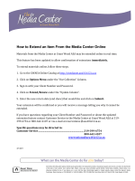 How to Extend an Item From the Media Center - Grant Wood AEA