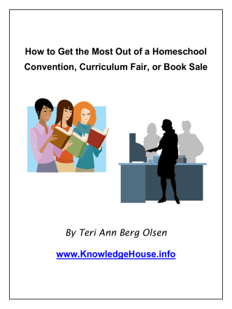 How to Get the Most Out of a Homeschool Convention, Curriculum