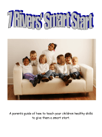 A parents guide of how to teach your children healthy skills to give