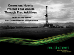 Corrosion: How to Protect Your Assets Through Frac - Hart Energy