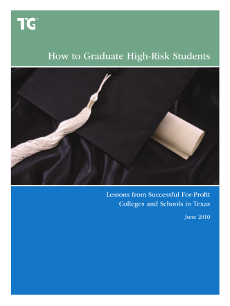 How to Graduate High-Risk Students: Lessons from - TG Online