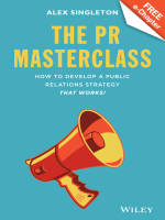 The PR Masterclass: How to Develop a Public Relations Strategy