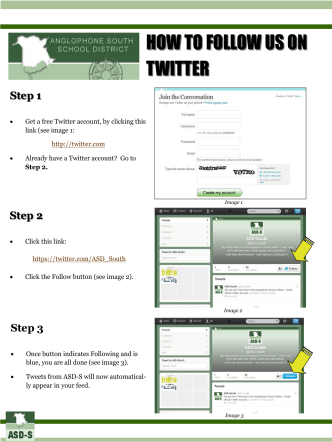 How to follow ASD-S on Twitter - Web