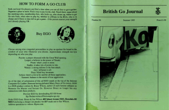 HOW TO FORM A GO CLUB - British Go Association
