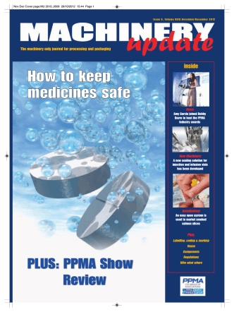 How to keep medicines safe - Machinery Update