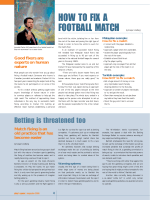 HOW TO FIX A FOOTBALL MATCH - Play the Game