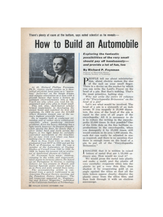 How to Build an Automobile - Royal Society of Chemistry