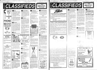 HOW TO PLAC CLASSIFIED AD! - the Quesnel  District Museum