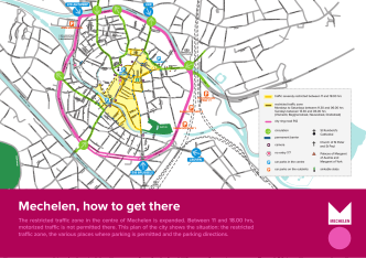 Mechelen, how to get there - Eltis