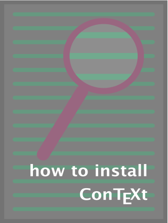 how to install ConTEXt - CTeX