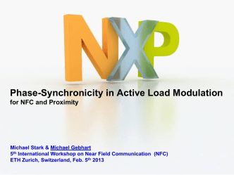 How to Guarantee Phase-Synchronicity in Active Load - NFC 2013