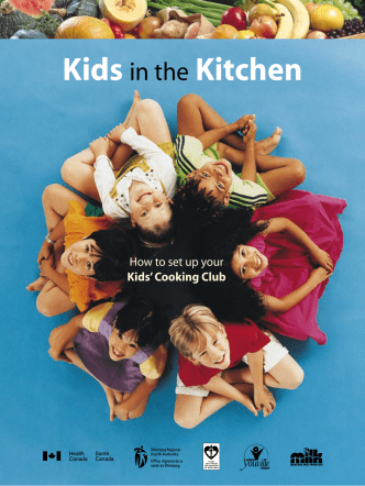 Kids in the Kitchen: How to set up your Kids Cooking Club