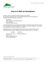 How to E-Mail am Smartphone - FH Pinkafeld