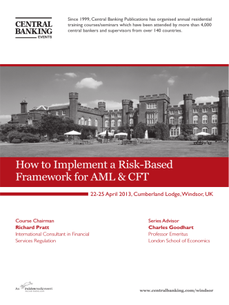 How to Implement a Risk-Based Framework for AML  CFT