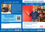 How To Build a Stud Wall - Mitre 10