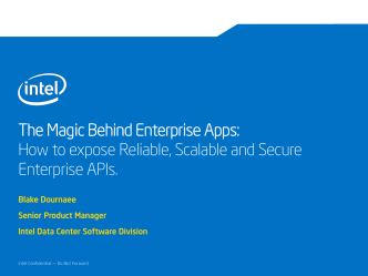 The Magic Behind Enterprise Apps: How to expose Reliable
