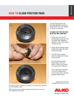 HOW TO CLEAN FRICTION PADS - Al-Ko