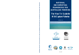 How To Guide for Wild Capture Fisheries. - Australian Fisheries
