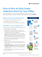 How to Run an Early Scope Collection Drive for Your Office