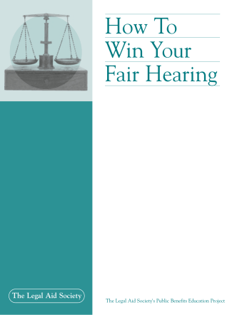 How To Win Your Fair Hearing - Legal-Aid.org