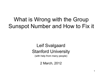 What is Wrong with the Group Sunspot Number and How to Fix it