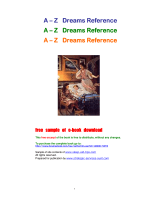 Dream Meanings, How to Interpret your Dreams, - Personal