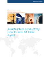 Infrastructure productivity: How to save $1 trillion a year - McKinsey