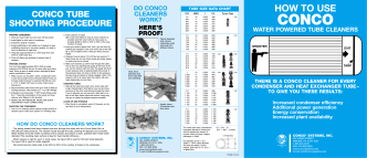 HOW TO USE - CONCO Systems