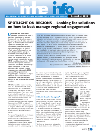 SPOTLIGHT ON REGIONS – Looking for solutions on how to best