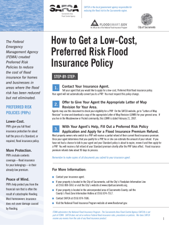 How to Get a Low-Cost, Preferred Risk Flood Insurance Policy