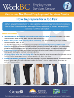 April 2014: How to prepare for a Job Fair - Mosaic