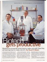 Biopharma companies know how to make cool stuff. Now they are