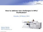 How to address new challenges in HPLC Purification? - Waters