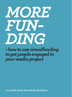 - how to use crowdfunding to get people engaged - Media Evolution