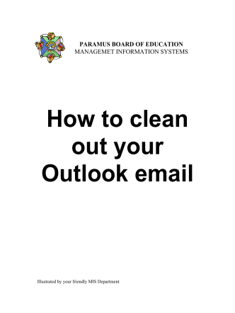 How to clean out your Outlook email
