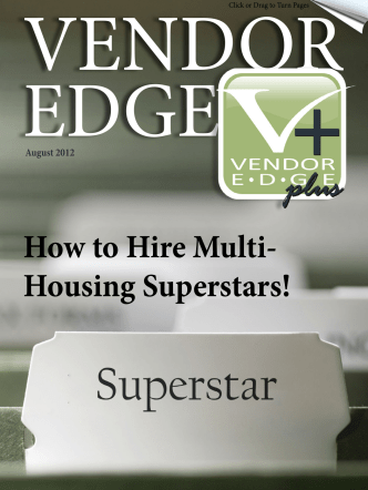 How to Hire Multi- Housing Superstars! - ALN Apartment Data, Inc