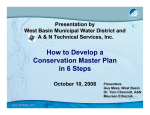 How to Develop a Conservation Master Plain in 6 - P2 InfoHouse