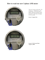 How to read our new 3-phase AMI meter
